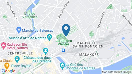 Sozo Hotel Map