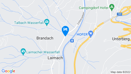 Scenic Holiday Home in Mayrhofen-hippach Near Ski Lift Map