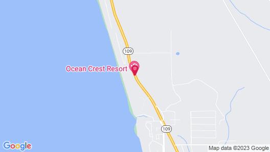 Ocean Crest Resort Map