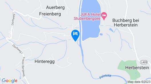 Gasthof-Pension Waldhof Map