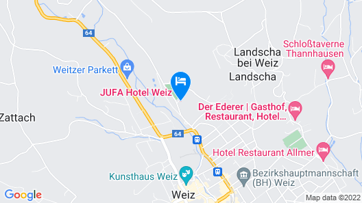 JUFA Hotel Weiz Map