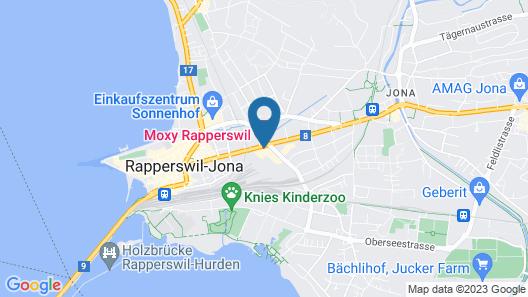 Moxy Rapperswil Map