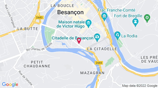 Best Western Citadelle Map
