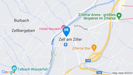 Apart Hotel Garni Strasser Map