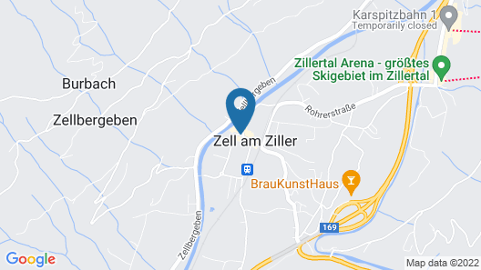 Hotel Untermetzger Map