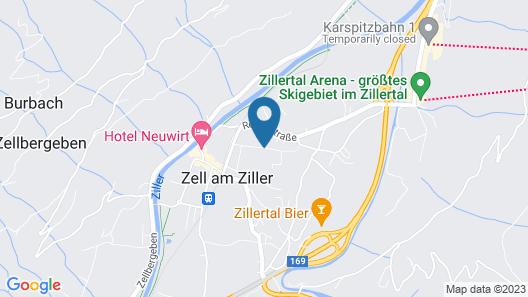 Hotel-Restaurant Rosengarten Map