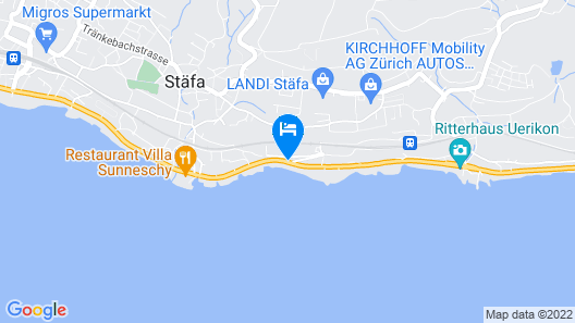 Das schönste Penthouse am Zürichsee Map