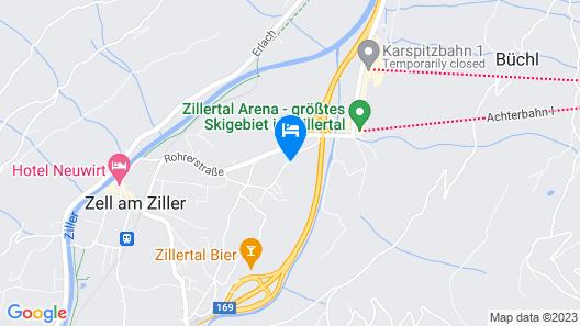 Spacious Apartment With Garden Near Ski Area in Tyrol Map
