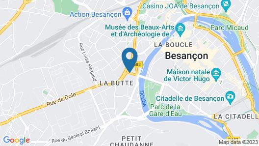 Zenitude Hôtel-Résidences La City Map