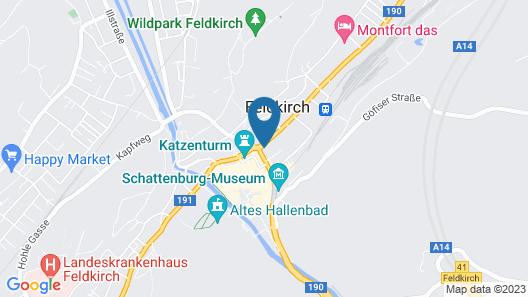 City Apartment Feldkirch Map