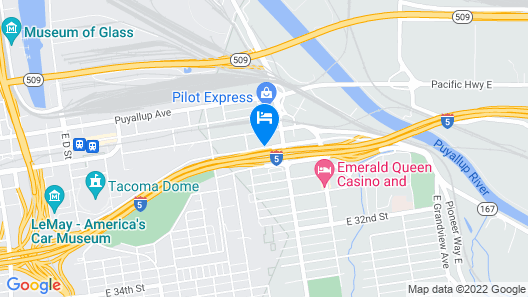 La Quinta Inn & Suites by Wyndham Tacoma - Seattle Map
