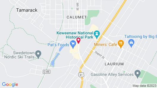 AmericInn by Wyndham Calumet Map