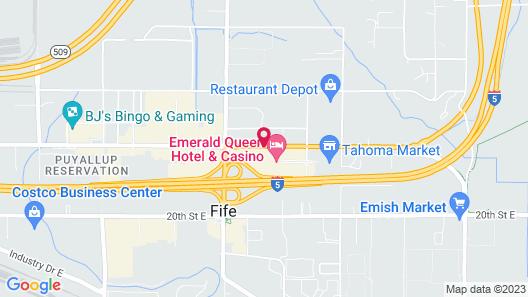 Emerald Queen Hotel & Casino Map