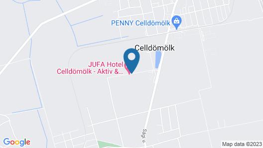 Jufa Vulkan Thermen-Resort  Map