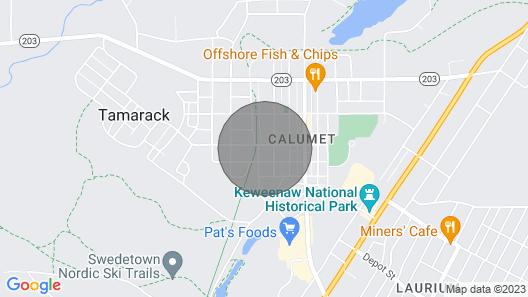 OAK Street INN - Copper Suite Map