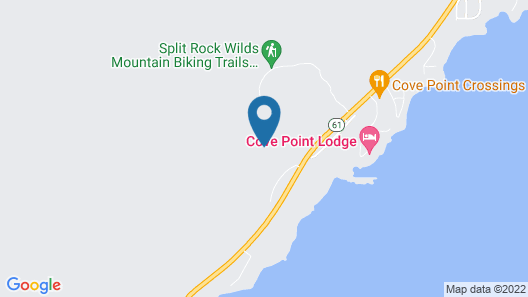 Split Rock Log Cabin-lake Superior View, Peacefully Set In 100yr old White Pines Map