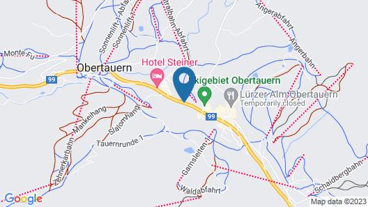 Hotel Alpina Map