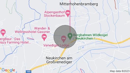Apartment Liftblick in Neukirchen am Großvenediger - 6 Persons, 2 Bedrooms Map