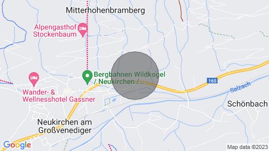 Apartment Rohregger, Neukirchen Map