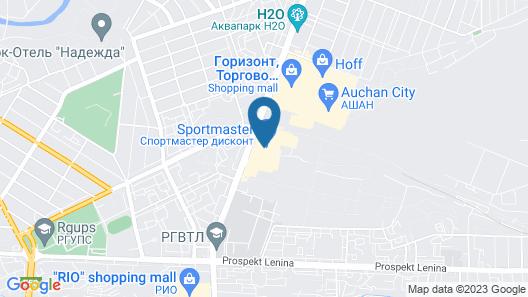 Topos Congress-Hotel Map