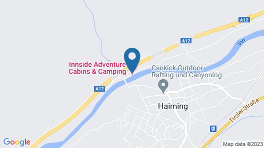 Gasthof Rafting Alm Map