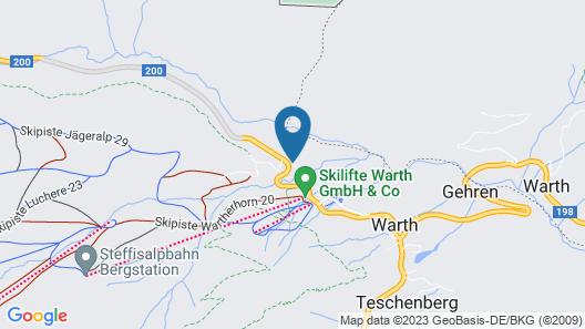 Lux-Alp Chalet Map