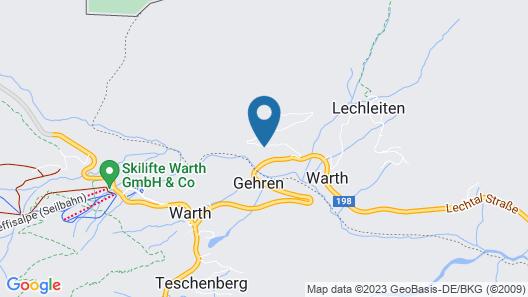Naturhaus Gehren Map