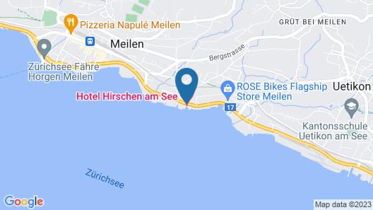 Hotel Hirschen am See Map