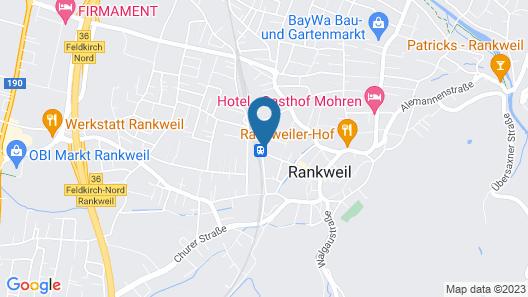 Hotel Hoher Freschen Map