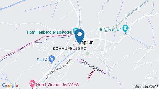 Appartement Margarethenstein Map