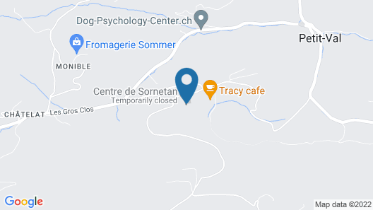 Centre de Sornetan Map