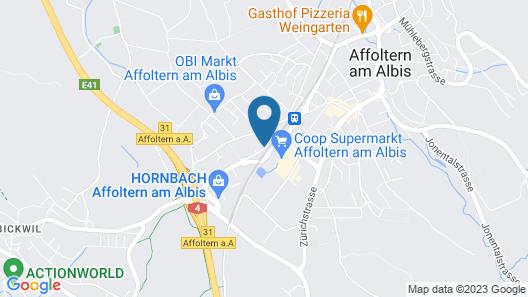 Holiday Inn Express Affoltern am Albis Map