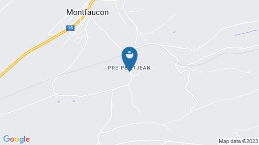 Apartment Maison de Vacances - Les Hirondelles in Montfaucon - 16 Persons, 6 Bedrooms Map