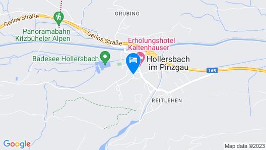 Alpin Residenz Panoramabahn Map