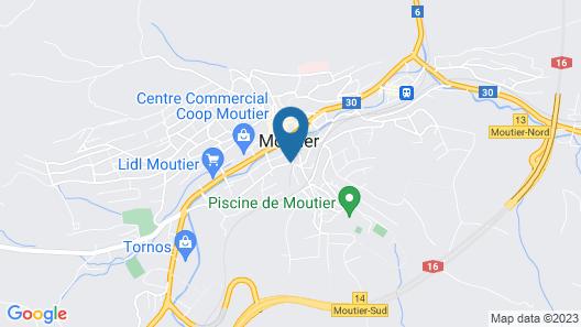 Hôtel Oasis Map