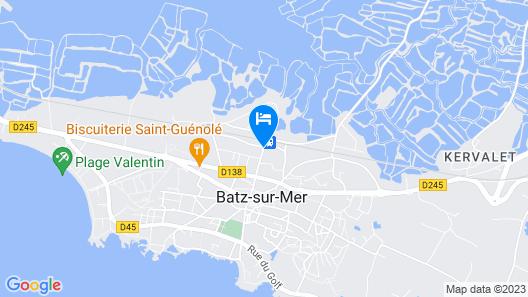 Hôtel des Marais Salants Map