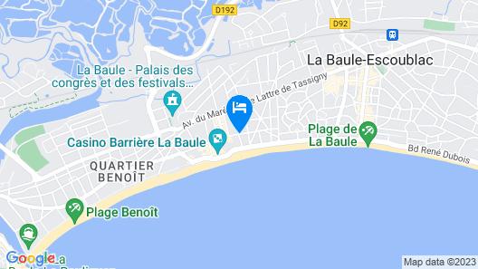 Hôtel Barrière Le Royal La Baule Map