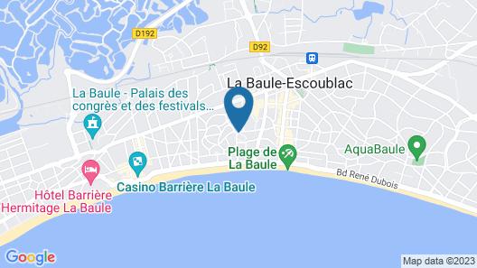 Hôtel Saint-Christophe Map