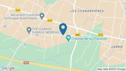 Château de la Chaussée Map