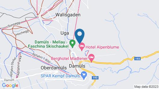 Hotel Hohes Licht Map