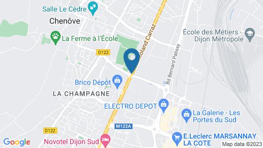 Hotel L'Escargotière Map