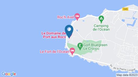 Domaine de Port aux Rocs Map