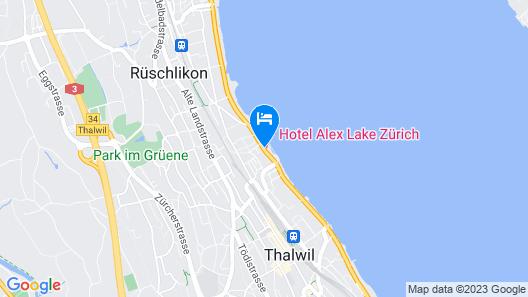 ALEX - Lakefront Lifestyle Hotel & Suites Map