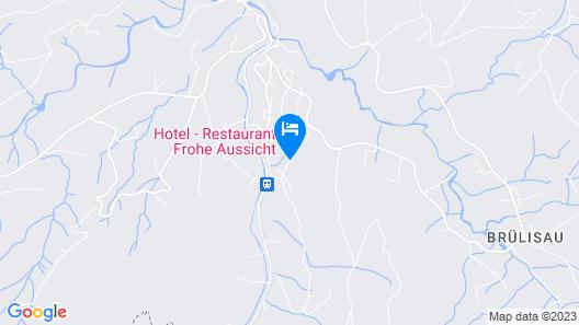 Gasthof Frohe Aussicht Map
