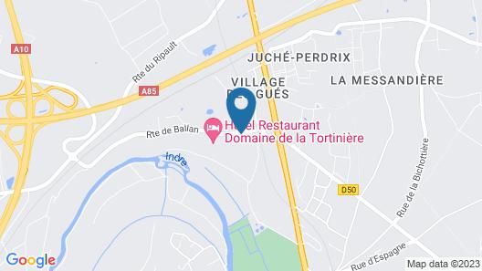 Domaine de la Tortinière Map