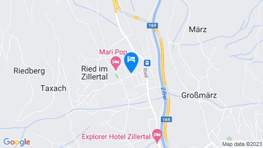 Gasthof Zillertalerhof Map