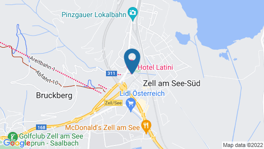 Hotel Latini Map