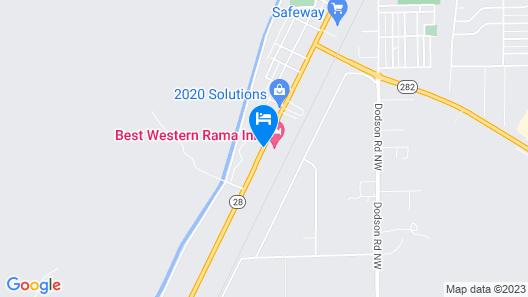 Best Western Rama Inn Map