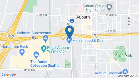 Holiday Inn Express & Suites Auburn Downtown, an IHG Hotel Map