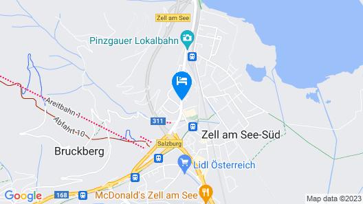HAIDVOGL KINDERHOTEL Zell am See Map